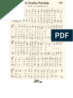 Harpa Crista 156 Ovelha Perdida