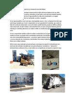 Manejo de Residuos Solidos en La Ciudad de Paucartambo