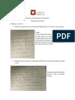 Ejercicio de Fenómenos de Transporte 101120172 (Respuestas)
