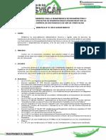 Directiva Para Transferencia de Obras