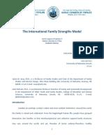 Sylvia Asay the International Family Strengths Model ENGLISH