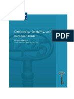 Democracy, Solidarity and the European Crisis, Jürgen Habermas