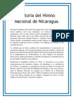Historia Del Himno de Nicaragua