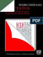 Pedro Hispano. Tractatus (Summule Logicales). [Ed.] L. M. de Rijk. [Trad.] Mauricio Beuchot. 1a Edición. México