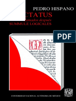 Pedro Hispano. Tractatus (Summule Logicales). U.N.A.M., 1986