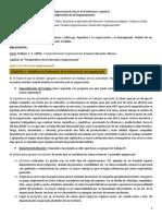 Resumen Unidad 2 Psicologia Organizacional