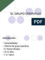 El Grupo Operativo (1)