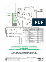 S&C Selection Guide for Transformer Primary Fuses in Medium Voltage 1984