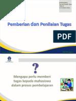 5. Pemberian Dan Penilaian Tugas_2012