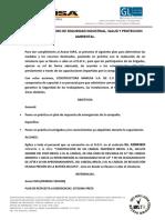 PROTOCOLO DE SIMULACRO