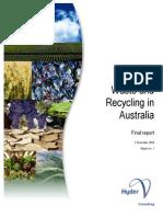 Australia Waste Recycling 2008