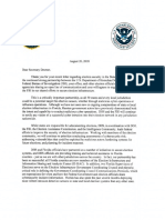 DHS, FBI letter to Florida Sec. of State Ken Detzner