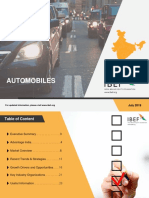 Automobiles Report July 2018