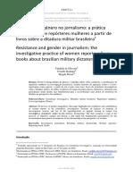 Resistência e gênero no jornalismo