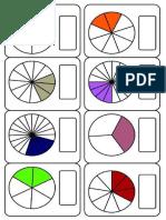 40 Fichas de Fracciones
