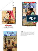 What is Water Worth Booklet