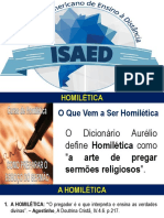 Slides Das Aulas de Homilética Isaed