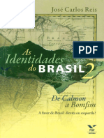 As Identidades Do Brasil - Jose Carlos Reis