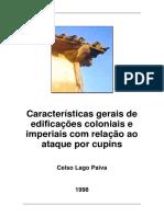 Cupins e o patrimônio histórico edificado (1998)