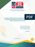 Agenda Talleres 2018 Final