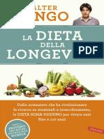 2016-235 Pag-LONGO Valter-La Dieta Della Longevita-Mima Digiuno-Vallardi