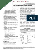 TPS7B770x-Q1Single- andDual-Channel AntennaLDOWithCurrent Sense