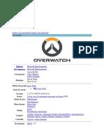 Overwatch Wikipedia Fr