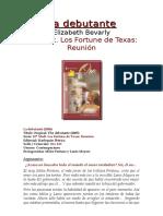 Fortune de Texas Reunión 12 - Elizabeth Bevarly - La Debutante