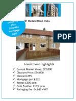 41 WELLAND ROAD Investment Brochure