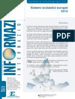 Sistemi Scolastici UE 2012