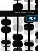 Thoughts on Design - Paul Rand