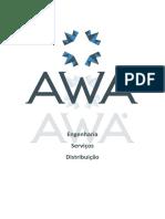 Catálogo de Fios Cordoalhas de Barras - AWA