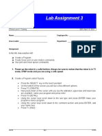 Lab Assignment 3