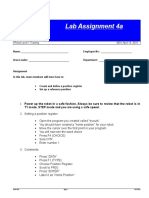 Lab Assignment 4a