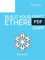 Build Your First Ethereum DApp