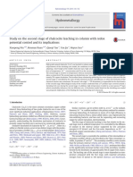 Study on the second stage of chalcocite leaching in column with redox.pdf