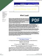 Wind Loading Calculator Webpage