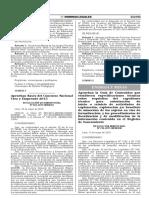 Aprueban La Guia de Contenidos Que Establecen Especificacion Resolucion Ministerial n 236 2015 Memdm 1238507 1