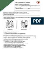 Evaluación de Historia y Ciencias Sociales 3 Basico 25 Junio