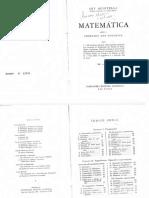 Ary Quintella - Matemаtica Para o Primeiro Ano Colegial 19a. Ed. 1963