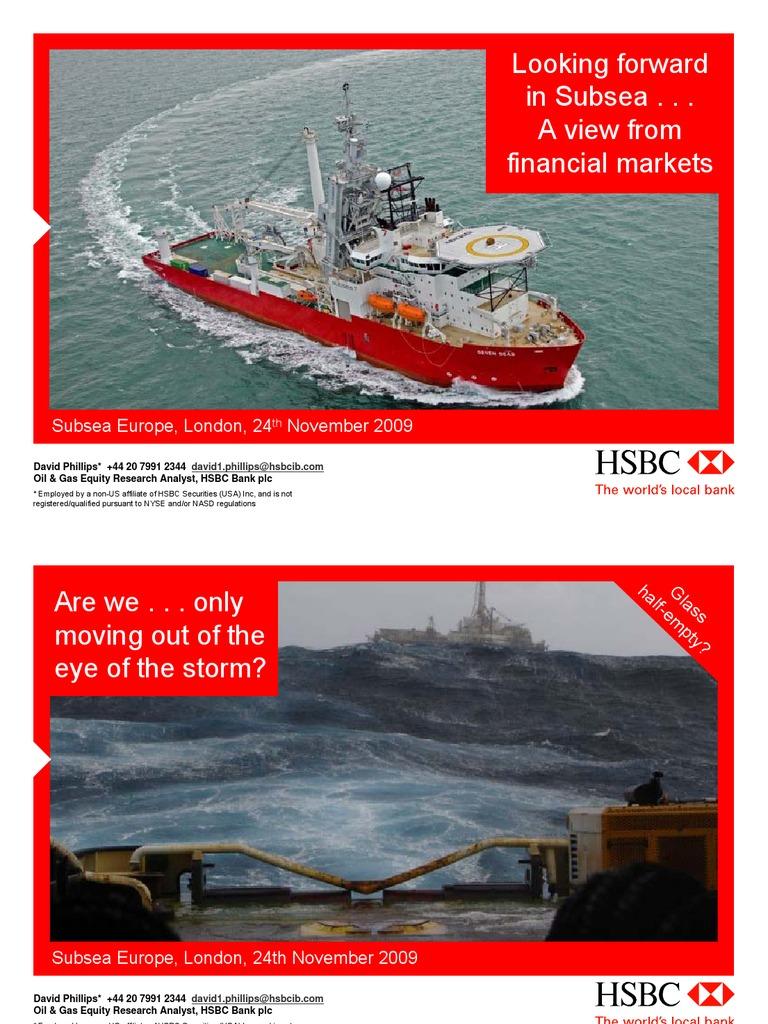 Hsbc - Subsea Europe 09 - David Phillips | Hsbc | Investor