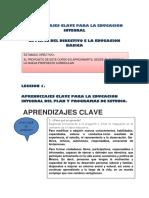 Productos Aprendizajes Clave Directivo