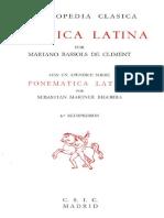 Bassols de Climent - Fonética latina.pdf
