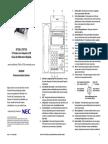 Guía RápidaTeléfono NEC DT330 DT730