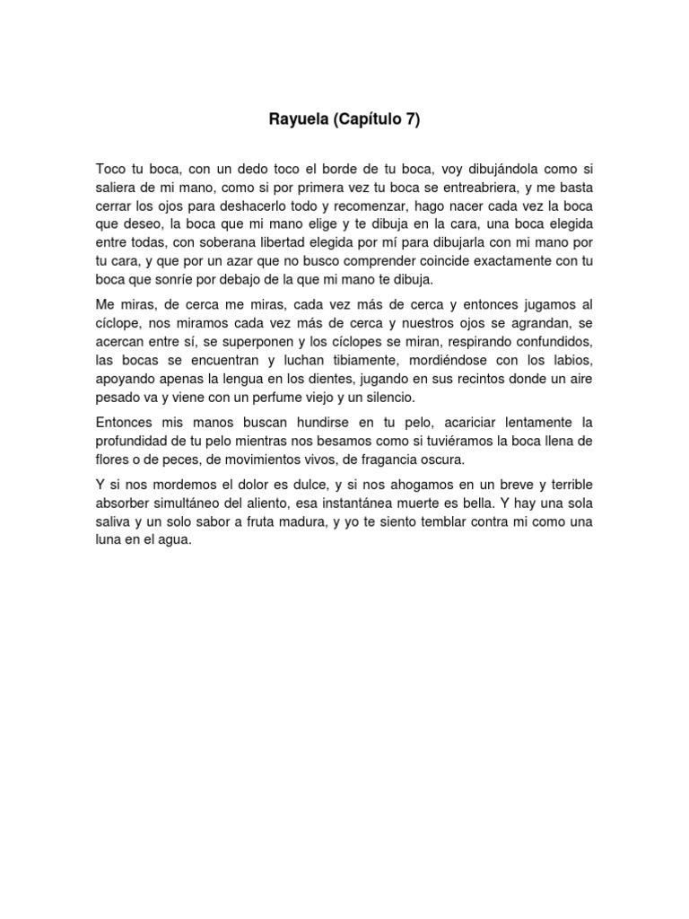 Rayuela Capitulo 7 Ocio