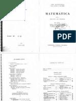 Ary Quintella - Matemаtica Para o Segundo Ano Colegial 18a. Ed. 1967