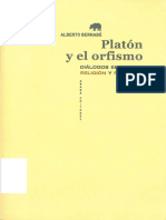 Alberto Bernabe - Platón y el Orfismo.pdf