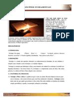Introdução, Princípios e Fundamento Da Teologia