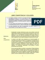 Tp 1231 Libre Mercado y Colusion
