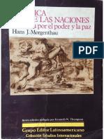 Politica de las Naciones - Hans Morgenthau